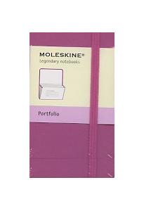 Portfolio Moleskine petit format rose