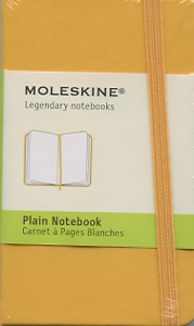 Carnet orange Moleskine