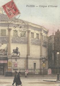 cahier Paris cirque d'hiver