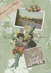 Cahier souvenir de Paris