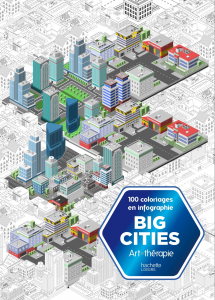 Big cities coloriez en infographie