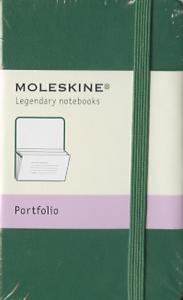 Portfolio Moleskine petit format Vert