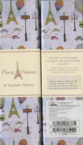 coffret crayon Paris