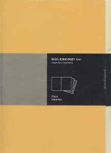 Pack chemise Moleskine Orange