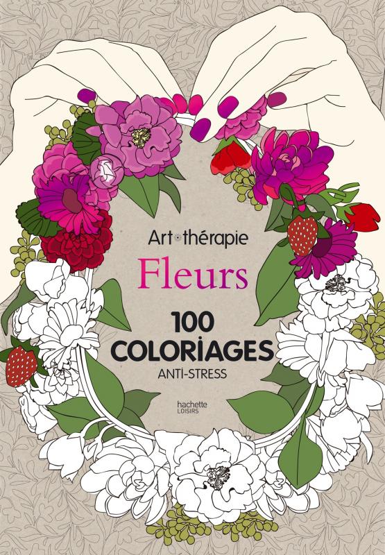 Fleurs 100 coloriages anti stress mona lisait - Dessin art therapie ...