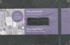 Album pages noires Moleskine