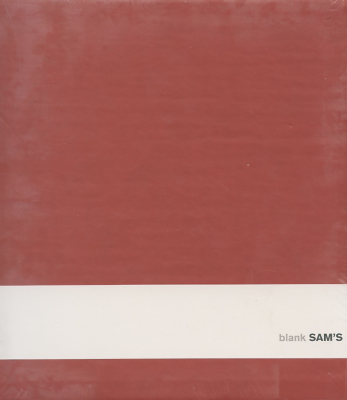 Cahier Sam's rouge