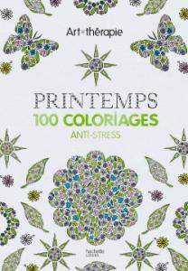 Art thérapie coloriage printemps