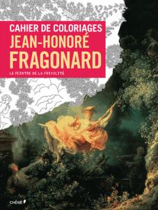 Cahier de coloriage Fragonard