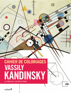 Cahier de coloriage Kandinsky