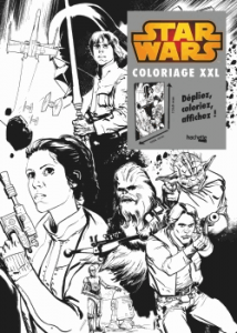coloriage XXL Star Wars