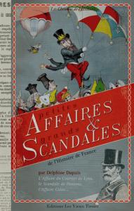 Petites affaires et grands scandales...