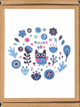 cartes Thank you
