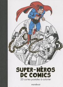 DCcomics à colorier