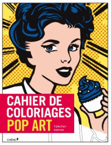 Cahier de coloriages Pop Art