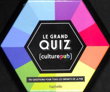 Le grand quizz culture pub
