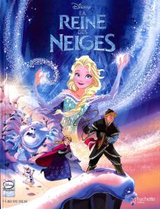 La reine des neiges la BD du film