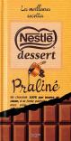 Nestlé dessert chocolat Praliné