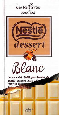 Nestlé dessert chocolat Blanc