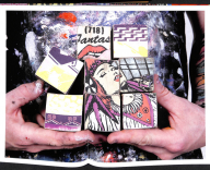 Faile works on wood