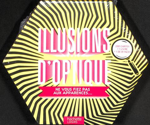 Illusion d'Optique coffret jeux