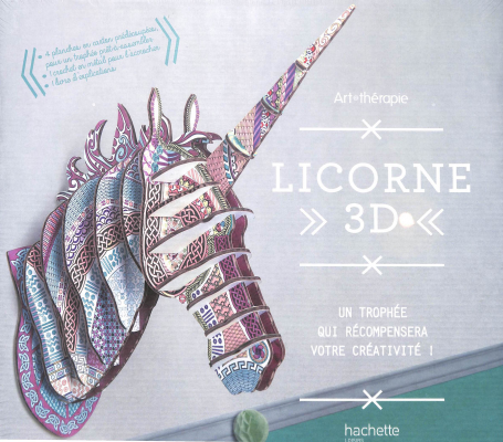Licorne 3D Art thérapie