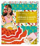 Tableaux à motifs princesses du monde - Avec des tampons et des cartes à motifs !