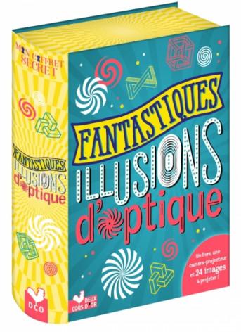 Fantastiques illusions d'optique - coffret avec lampe