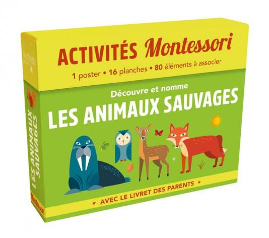 Boîte 2 Montessori - Les animaux sauvages