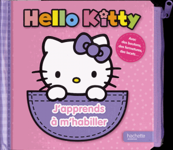 Hello Kitti j'apprends à m'habiller