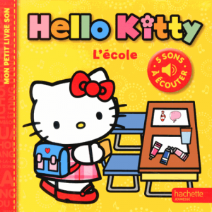 Hello Kitty l'école