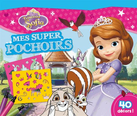 Princesse Sofia Mes super pochoirs