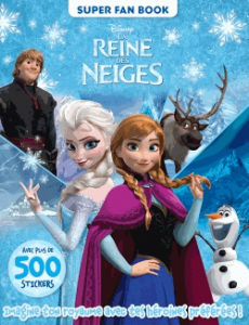 La reine des neiges, super fan book