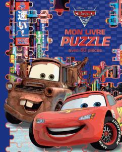 Cars 2 Mon livre puzzle