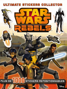 Star Wars Rebels Stickers collector