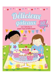 Délicieux gâteaux 50 stickers